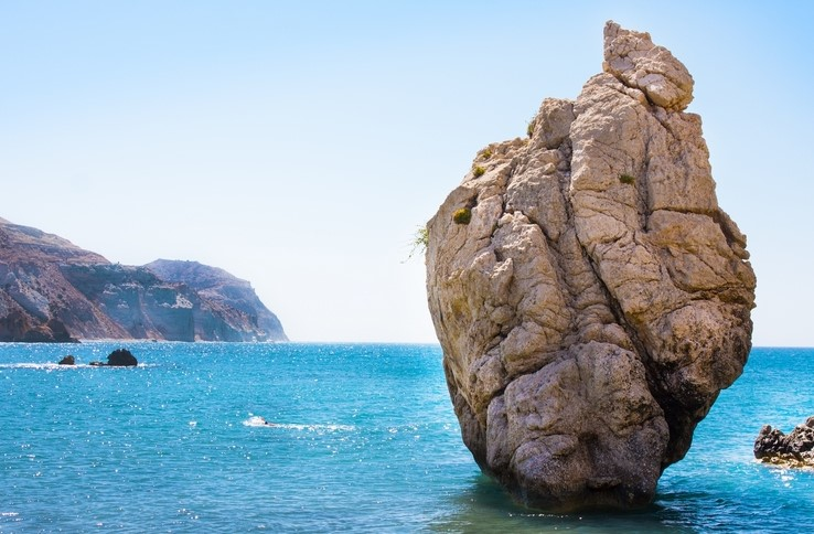 Aphrodite's Rock in Ayia Napa